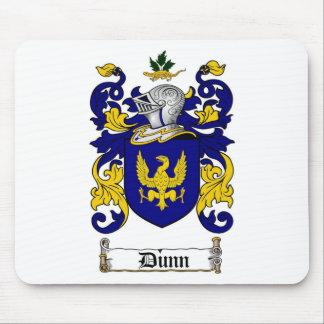 ESCUDO DE LA FAMILIA DE DUNN - ESCUDO DE ARMAS DE  ALFOMBRILLAS DE RATONES
