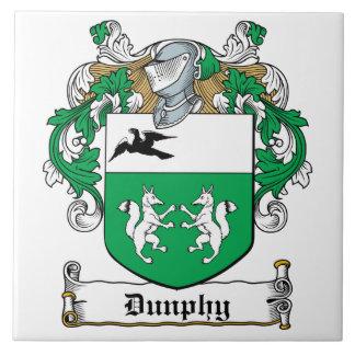 Escudo de la familia de Dunphy Azulejos