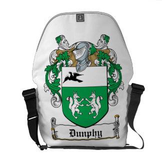 Escudo de la familia de Dunphy Bolsa De Mensajería