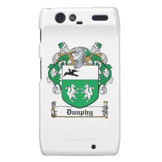 Escudo de la familia de Dunphy Motorola Droid RAZR Funda