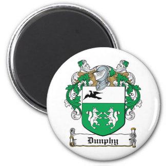 Escudo de la familia de Dunphy Imán Para Frigorífico