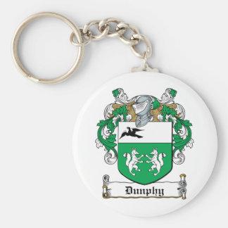 Escudo de la familia de Dunphy Llaveros Personalizados