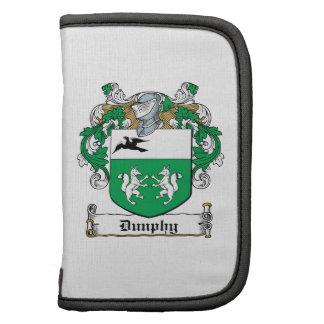 Escudo de la familia de Dunphy Planificador