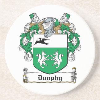 Escudo de la familia de Dunphy Posavaso Para Bebida