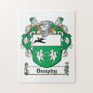 Escudo de la familia de Dunphy Rompecabezas Con Fotos