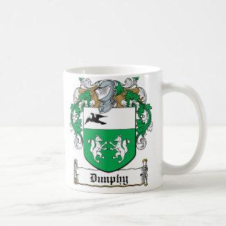 Escudo de la familia de Dunphy Taza