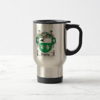 Escudo de la familia de Dunphy Tazas De Café