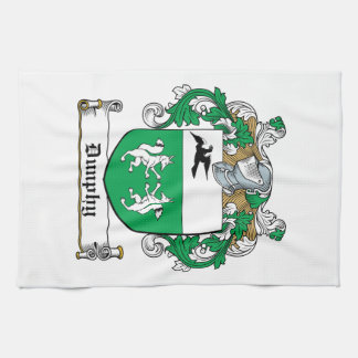 Escudo de la familia de Dunphy Toalla De Mano