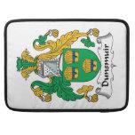 Escudo de la familia de Dunsmuir Funda Macbook Pro