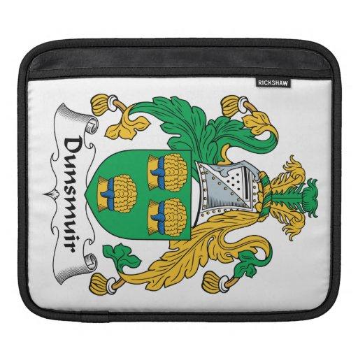 Escudo de la familia de Dunsmuir Funda Para iPads