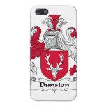 Escudo de la familia de Dunston iPhone 5 Cárcasas