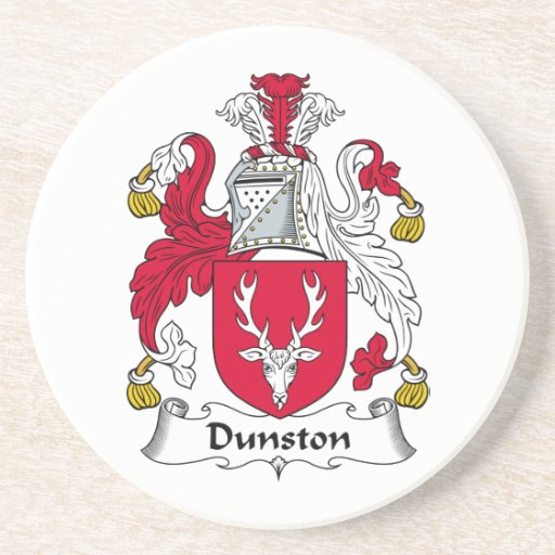 Escudo de la familia de Dunston Posavasos Diseño