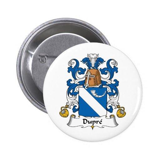 Escudo de la familia de Dupre Pin