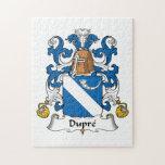 Escudo de la familia de Dupre Rompecabezas