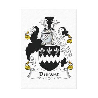 Escudo de la familia de Durant Lona Estirada Galerias