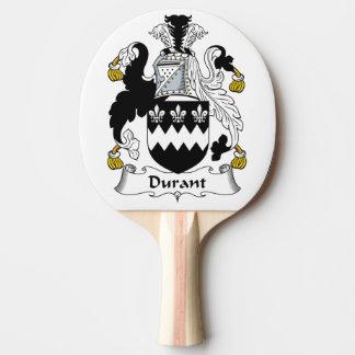 Escudo de la familia de Durant Pala De Tenis De Mesa