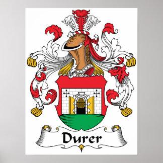 Escudo de la familia de Durer Posters