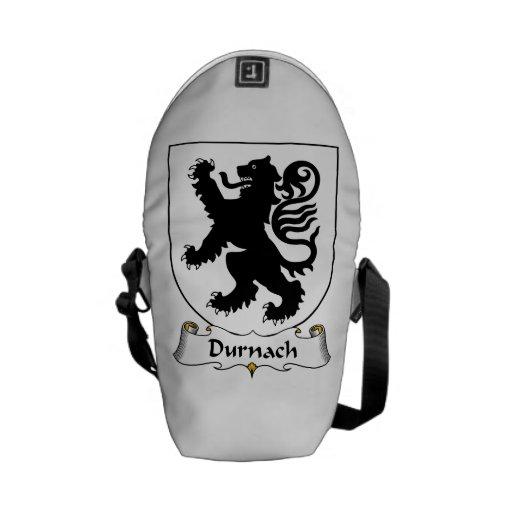 Escudo de la familia de Durnach Bolsa Messenger