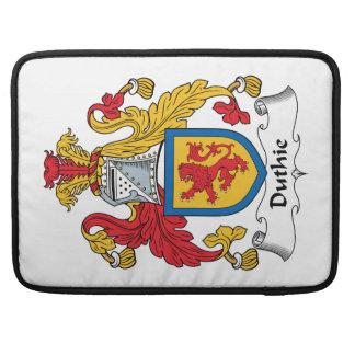 Escudo de la familia de Duthie Funda Macbook Pro