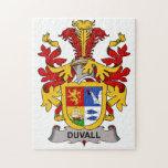 Escudo de la familia de Duvall Puzzle