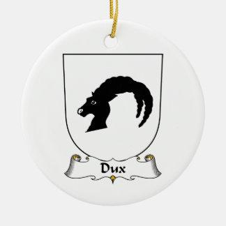 Escudo de la familia de Dux Ornamentos De Reyes Magos