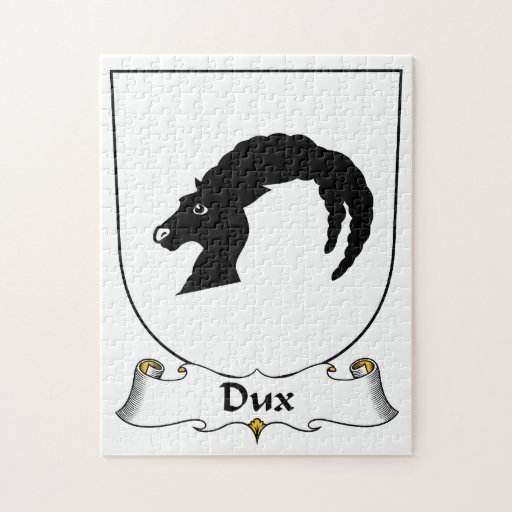 Escudo de la familia de Dux Puzzle Con Fotos