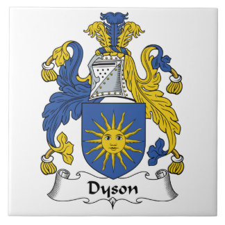 Escudo de la familia de Dyson Azulejos Ceramicos