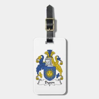 Escudo de la familia de Dyson Etiqueta Para Maleta