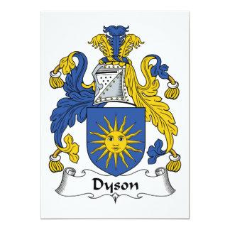 Escudo de la familia de Dyson Comunicados Personales