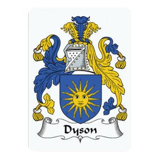 Escudo de la familia de Dyson Anuncios Personalizados