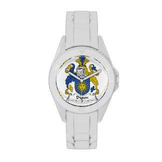 Escudo de la familia de Dyson Reloj De Mano