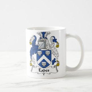 Escudo de la familia de Eades Tazas De Café