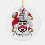 Escudo de la familia de Eaglesham Ornamente De Reyes