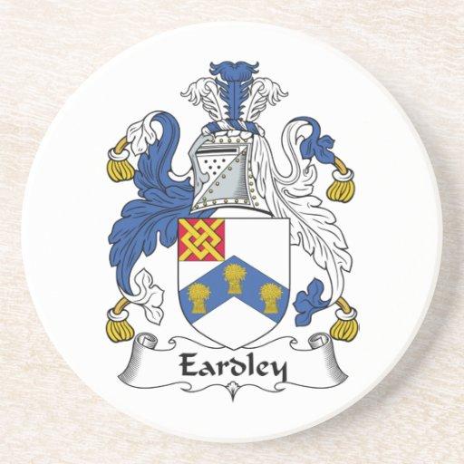 Escudo de la familia de Eardley Posavasos Personalizados