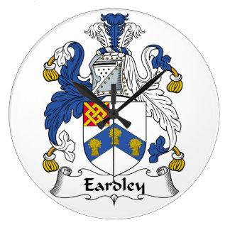 Escudo de la familia de Eardley Relojes