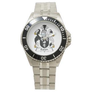 Escudo de la familia de Easton Relojes