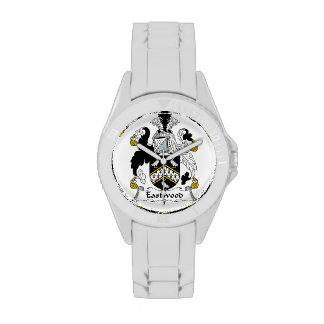 Escudo de la familia de Eastwood Relojes