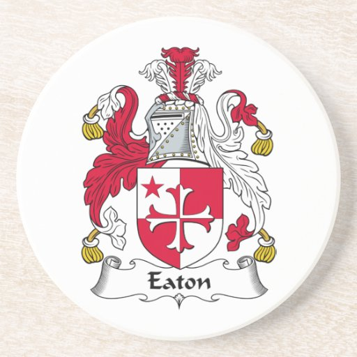Escudo de la familia de Eaton Posavasos Diseño