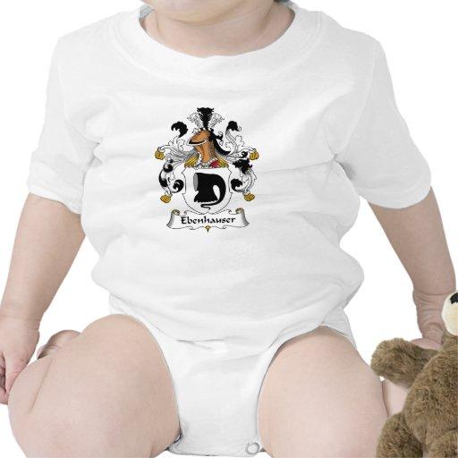 Escudo de la familia de Ebenhauser Camiseta