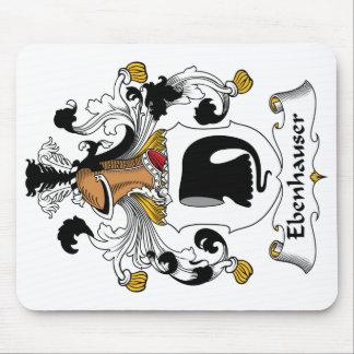 Escudo de la familia de Ebenhauser Mouse Pad