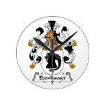 Escudo de la familia de Ebenhauser Relojes
