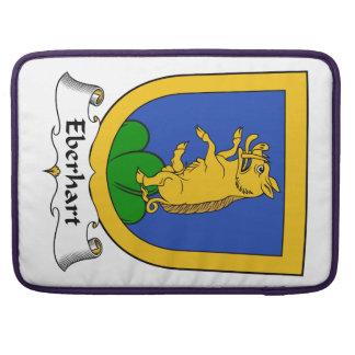 Escudo de la familia de Eberhart Fundas Para Macbooks