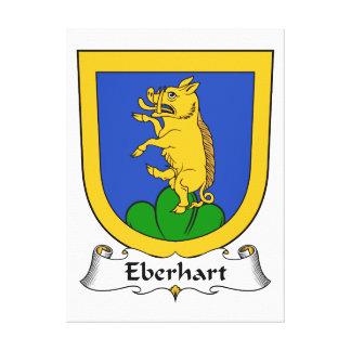 Escudo de la familia de Eberhart Impresiones De Lienzo