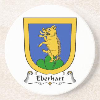 Escudo de la familia de Eberhart Posavasos De Arenisca
