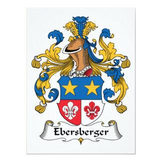 Escudo de la familia de Ebersberger Anuncios