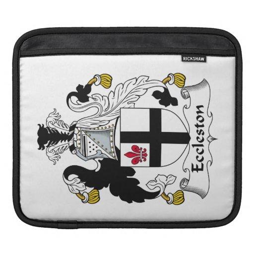 Escudo de la familia de Eccleston Funda Para iPads