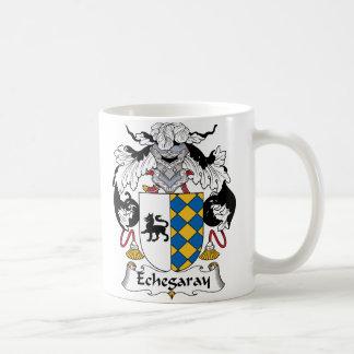 Escudo de la familia de Echegaray Taza Clásica