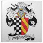 Escudo de la familia de Echevarria Servilleta