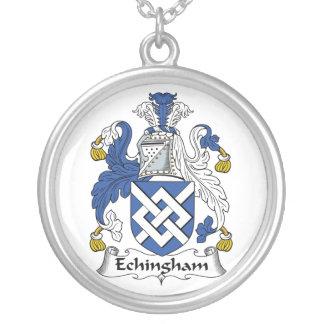 Escudo de la familia de Echingham Grimpola