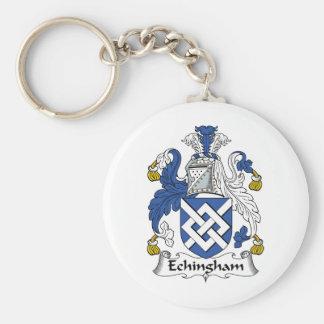 Escudo de la familia de Echingham Llaveros